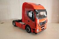 Редкий 1:12 Весы Iveco Stralis привет way тяжелый грузовик Прицепы моделей автомобилей Игрушечные лошадки Ограниченная серия хобби Коллекция