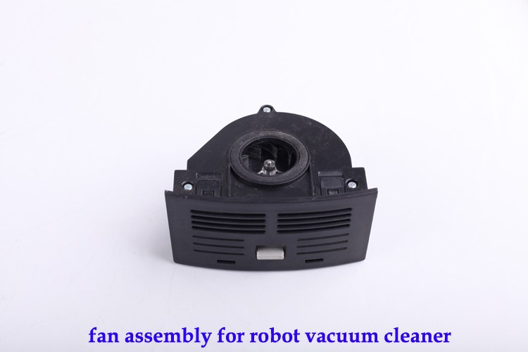 (For A320,A325,A330,A335,A336,A337,A338) Fan Assembly for Robot Vacuum Cleaner, Black Color, 1pc/ pack vacuum cleaner parts for cleaner a320 a325 a330 a335 a336 a337 a338 360 degrees front wheel assembly for robot vacuum cleaner 1pcs pack