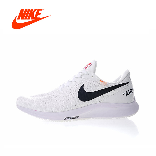 8f54319fb6fe9 Original New Arrival Authentic NIKE ZOOM PEGASUS 35 x Offwhite Men s  Breathable Running Shoes Sneakers Sport Outdoor 942851-100