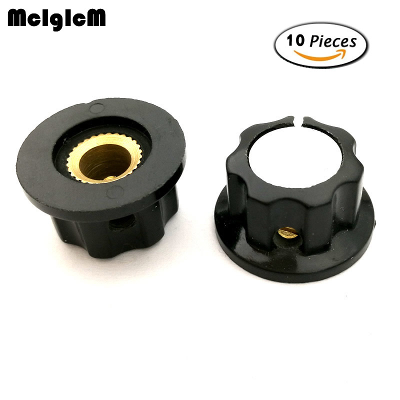 K324 10pcs MF A01 bakelite potentiometer potentiometer knob cap diameter 19 5MM with RV16 hole 3