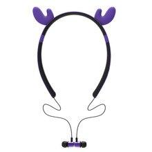 girl Bluetooth headphones Cosplay Wireless Earphone Magnetic Bluetooth Headset Cool Earpods