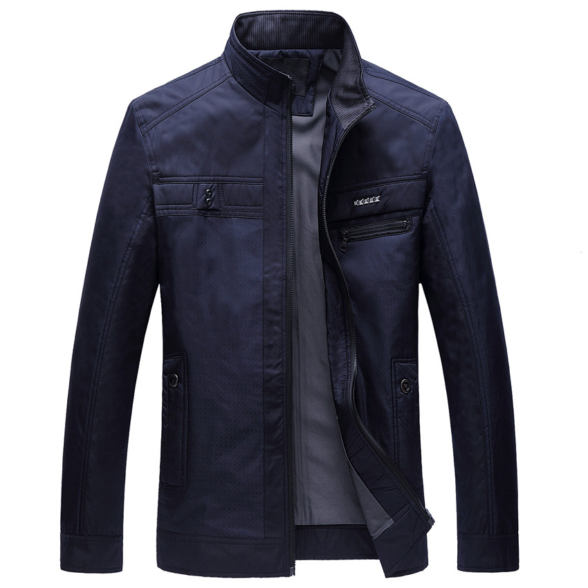 Jacket Men Business Thin 2017New Fashiong Casaco Masculino Splice Durk Blue Jaqueta Masculina Male Spring Jackets Hot Selling