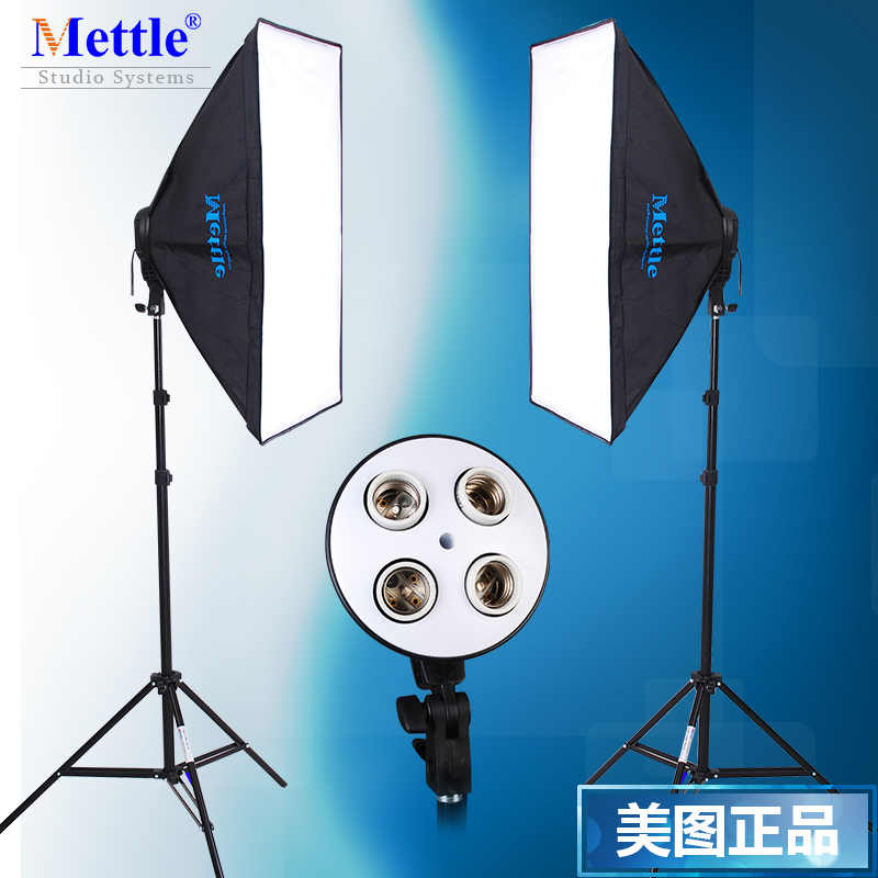 New Photo Video Studio Photography Continuous Light Soft Box Kit 1Year Warranty photography lighting photographic equipment CD50 professional godox ql1000 1000w photo photography studio video continuous light lighting
