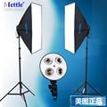 Nueva Foto Video Studio Fotografía Luz Continua Kit Caja de luz 1 Años de Garantía iluminación de la fotografía equipo fotográfico CD50