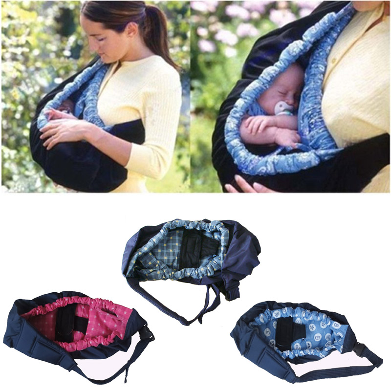 New Comfort Baby Cradle Newborn Pouch Ring Sling Backpack Infant Carrier Wrap Bag Swaddl ...