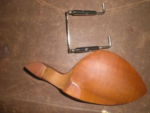 1 PC of Jujube WOOD Violin Chin rest with SILVERcolor Chin rest screw all in 4/4 without chin rest holes