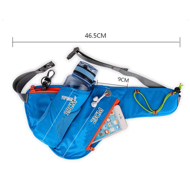 Sports Bottle Phone Case: FlexRun™ Running Water Waist Pack
