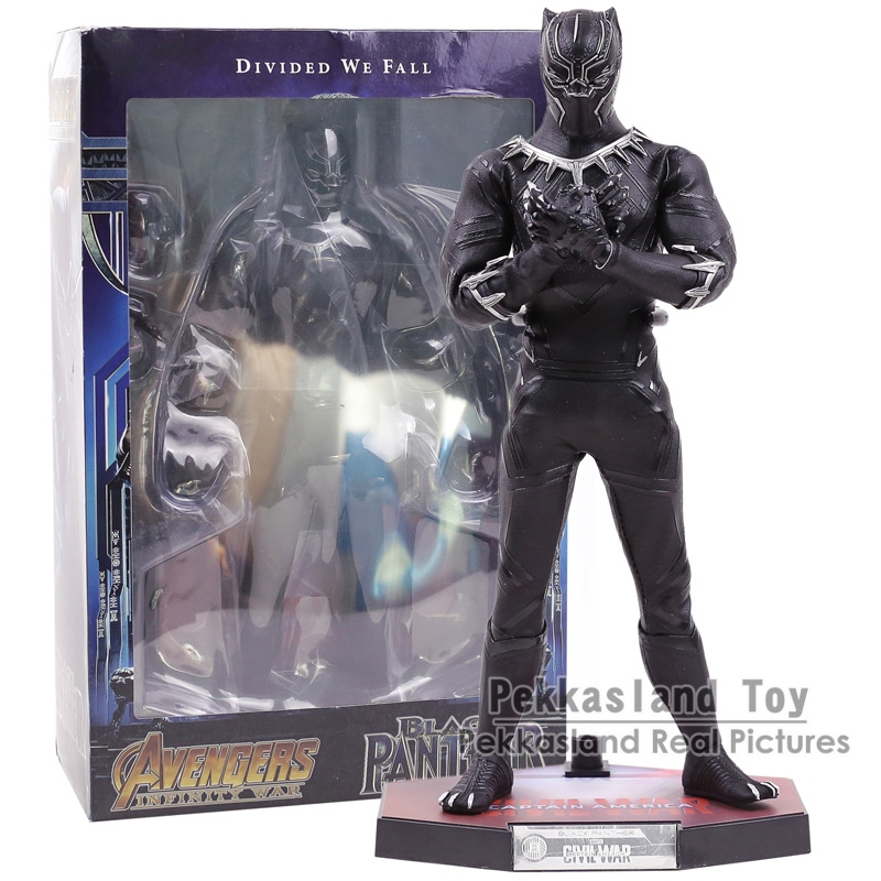 Marvel Avengers 3 Infinity War Black Panther PVC Action Figure Collectible Model Toy 12
