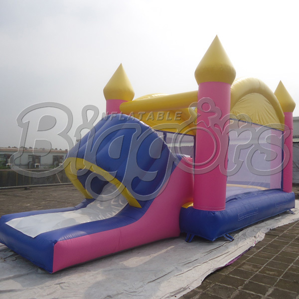 FREE SHIPPING BY SEA Hot Selling Inflatable Bouncer Inflatable Trampoline With Inflatable Slide Combo free shipping by sea kid inflatable bouncer for sale with inflatable slide
