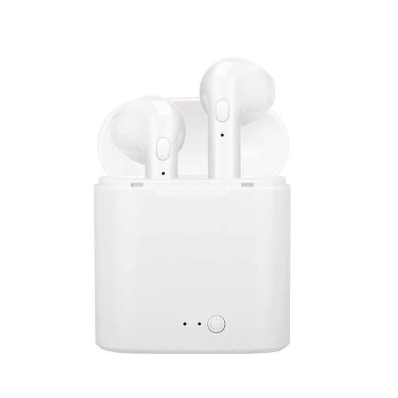 I7s Tws Earphone Wireless Bluetooth Headset Sport Music Earbuds Earphones For Iphone X 8 7 6 S Plus Ios Android Smartphones Aliexpress