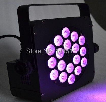 new product quad led light bar 18pcs 3 in 1 RGB led par can light