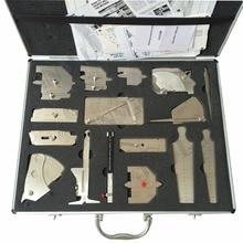 Welding Gauge Welding Measure Gauges 16 Pieces Kits Welding Measure Tools Combined Suit