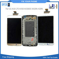 10pcs/lot For LG K10 LTE K430 K430DS K420N 420N LCD Display With Touch Screen Digitizer Assembly Replacement Parts With Tools