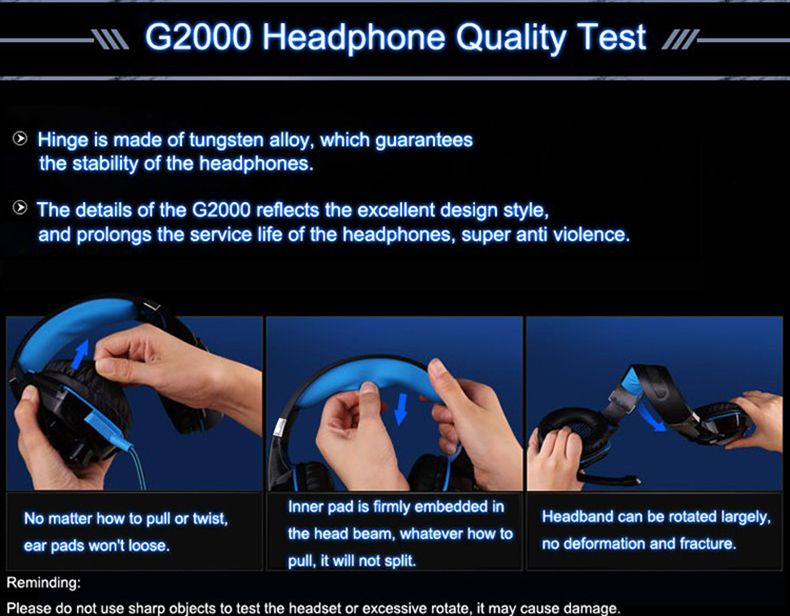 Best casque Computer Stereo Gaming Headphones Deep Bass Game Earphone Headset Gamer with Microphone Mic LED Light for PC Game  (12)