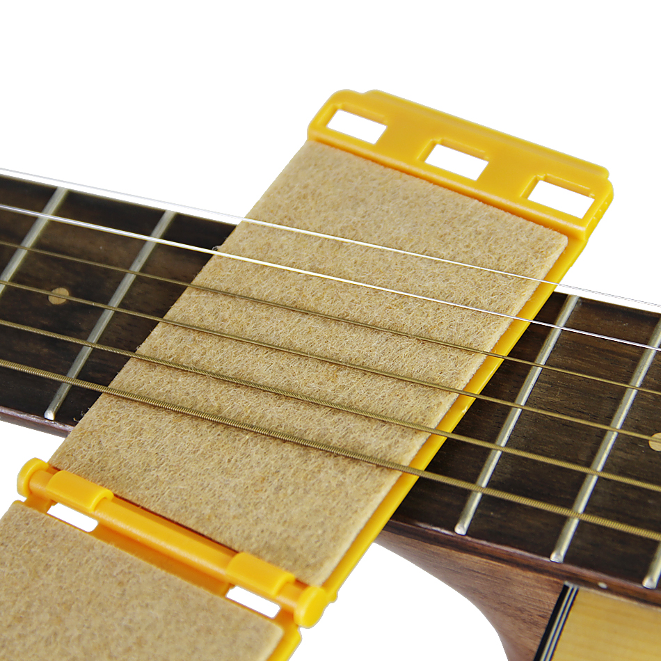 2019 String Scrubber Fingerboard Cleaner For Guitar Bass Stringed Instrument Guitar Parts 1pcs New Musical Instruments Guitar Parts & Accessories