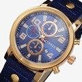 CURREN Relógios Homens Esportes Militar Do Exército dos homens de Luxo Da Marca Relógios de Quartzo Horas Data Relógio Cinta de nylon Relógio Relogio masculino