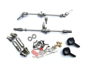 MN Model 1:12 D90 D91 WPL B14 B24 B16 C14 C24 B36 RC car spare parts Metal universal joint steering cup drive shaft