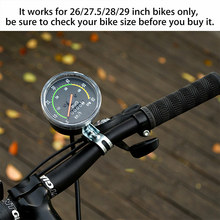 цена на Mechanical Odometer Speedometer Round Portable Aluminum Alloy for Bicycle Bike C55K Sale