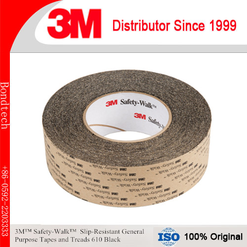 3M Safety Walk Anti-Slip tape and Tread 610, Black, 200mmX60FT Pack of 1 walk of shame бюстье