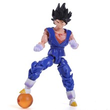 Dragon Ball Z PVC Figures Goku / Vegeta / Piccolo Super Soldier 6pcs/set RARE
