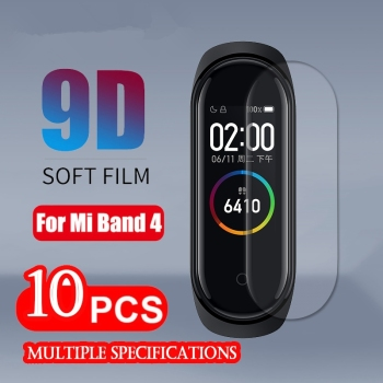 10 pcs Xiaomi Mi Band 4 Screen Protector For Xiaomi Band 4 3 Film Xiaomi Mi band 3 Protective screen protector