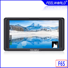Feelworld F6S 5 Inch On-Camera Field Monitor F6 Updated Version 4K HDMI Input Full HD 1920x1080 IPS for Camera Video Stabilizer feelworld f6 5 7 ips support 4k hdmi input full hd on camera monitor for camera video can power for dslr or mirrorless camera