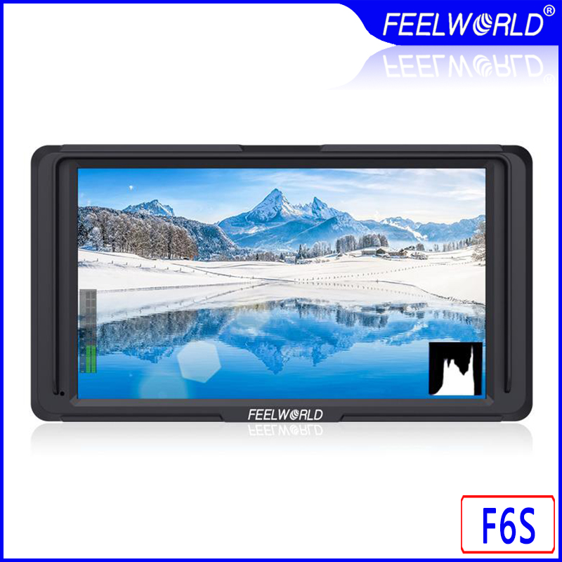 Feelworld F6S 5 pouces moniteur de terrain sur caméra F6 Version mise à jour 4 K HDMI entrée Full HD 1920x1080 IPS pour stabilisateur vidéo caméra