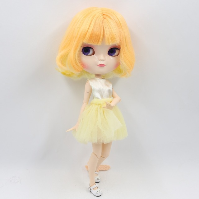 ICY Neo Blythe Doll Short Mango Hair Azone Jointed Ara
