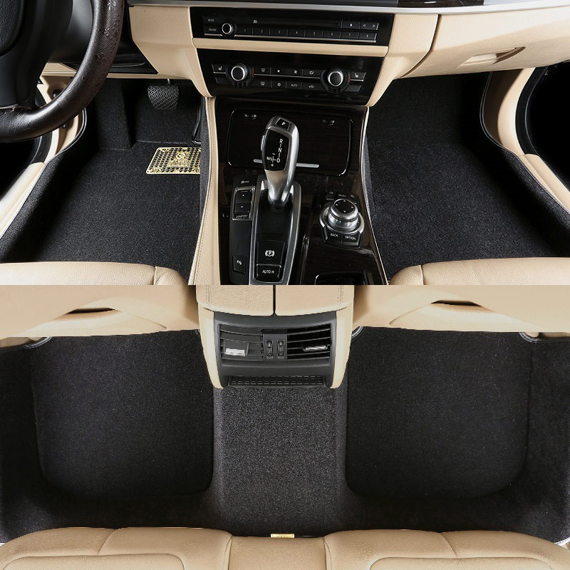car floor mat carpet rug ground mats for Smart fortwo forfour Subaru forester impreza legacy outback xv trunk mat for auto subaru xv forester impreza justy legacy leone outback waterproof car accessories cargo liners