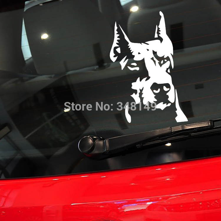 Aliauto Reflective Car Sticker /Decal Car Decoration Hound Dog for Toyota Chevrolet cruze Volkswagen skoda Hyundai Kia Lada opel