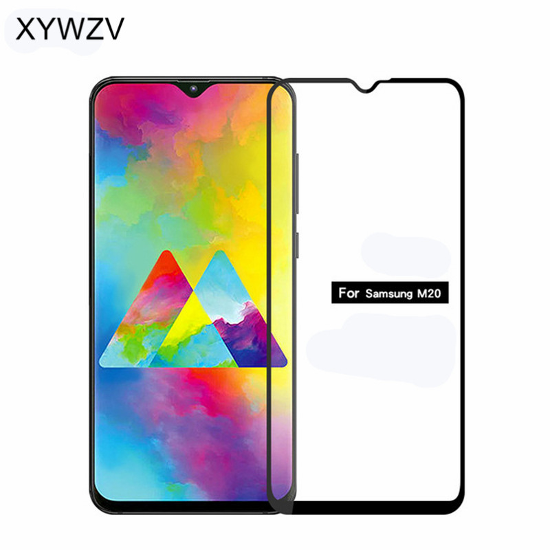 Full Glue Cover Glass For Samsung Galaxy M20 Screen Protector Tempered Glass For Samsung Galaxy M20 Glass For Samsung M20 Film lt in Phone Screen Protectors from Cellphones amp Telecommunications
