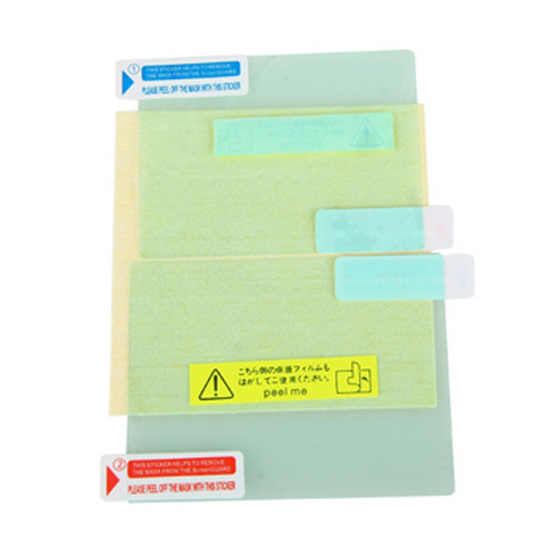 3 X Ultra Clear Screen Guard Film LCD Protector for Nintendo NDSL NDS Lite