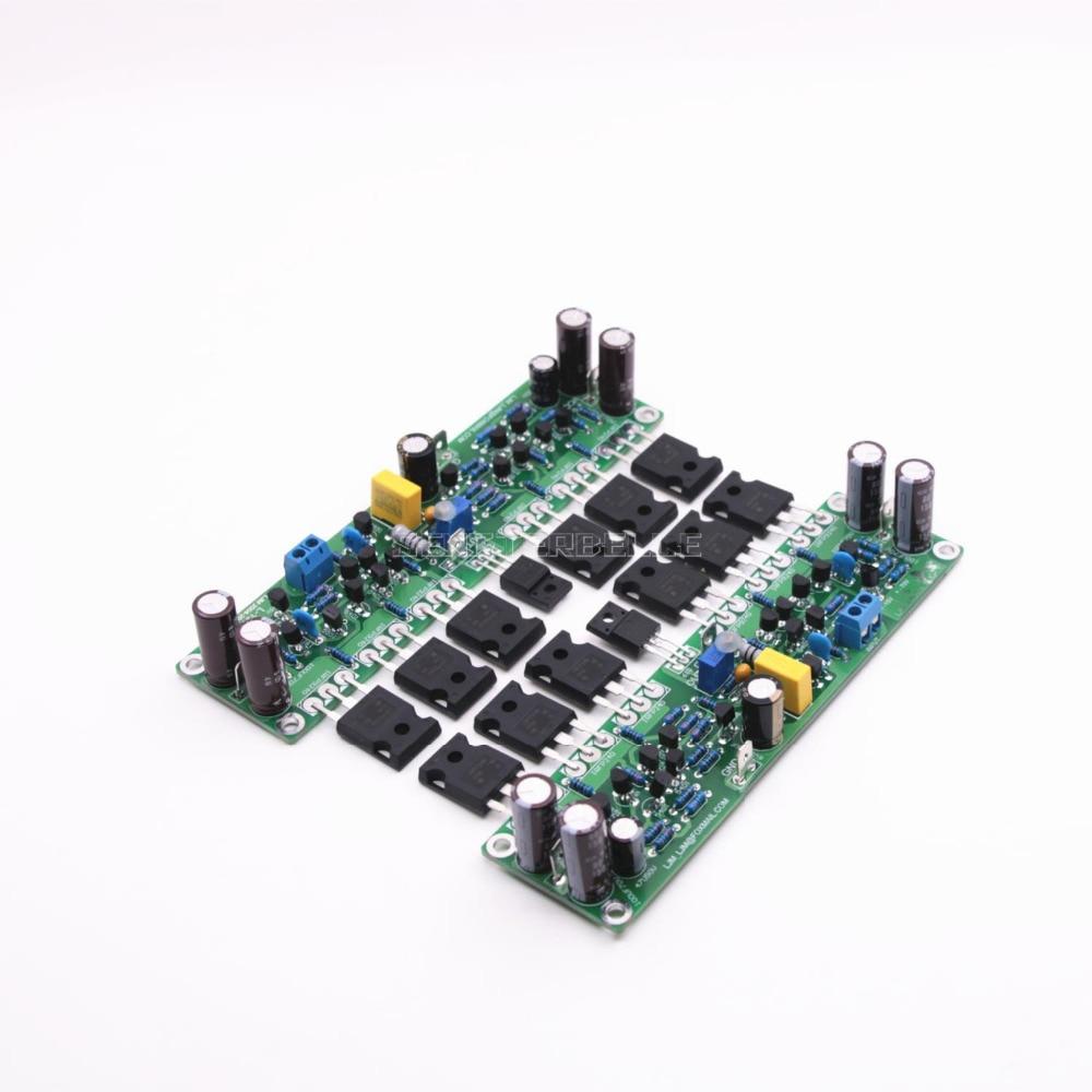 Assembled L15 2 Channels Mosfet Stero Audio Power Amplifier Board 25 Watt Diy Irfp240 Irfp9240 Field Effect Tube Amp In From Consumer Electronics On