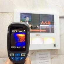 Pantalla a Color de 2.4 pulgadas Cámara Termográfica Handheld Profesional Medidor de Temperatura Del Termómetro Digital del Punto del Laser-20-300C
