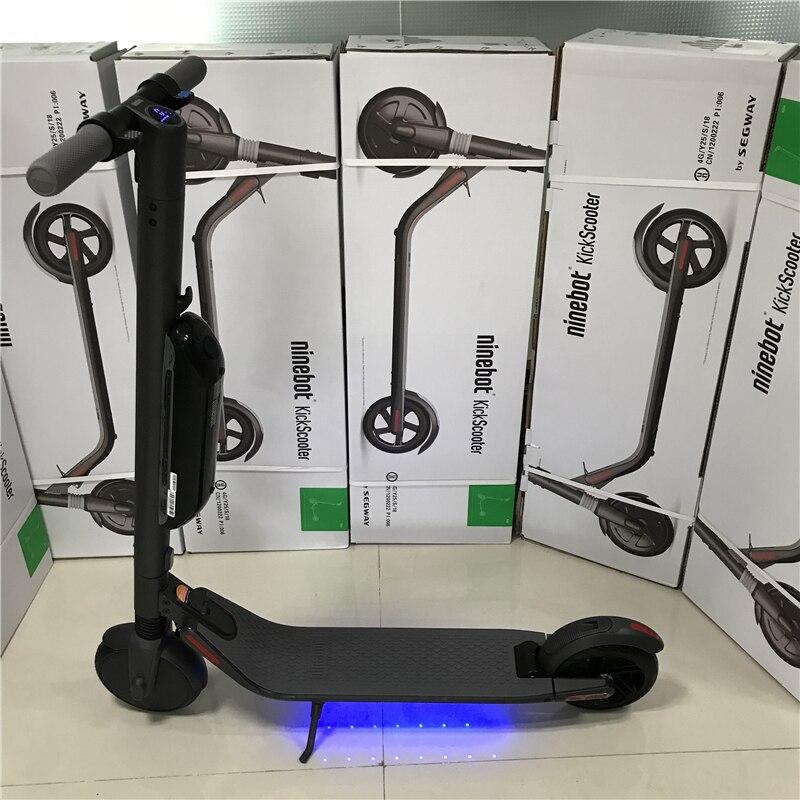 D'origine Ninebot KickScooter ES4 Smart Électrique Scooter 30 km/h Pliable Longboard Connexion Bluetooth Léger Skate Board