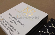Buy gold foil business cards and get free shipping on aliexpress gold foil business cards custom gold stamping business card printingchina colourmoves
