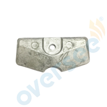 OVERSEE 6L5-45251-03 2/2.5/3/4/5/6HP Fit For Yamaha Outboard Lower Unit Gearbox Anode 6L5-45251