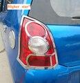 Бесплатная доставка! Более высокая звезда ABS хромированный Автомобильный задний фонарь украшение крышка  задняя лампа рамка Крышка для SUZUKI ...