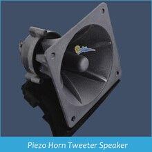 Vuông tweeter sừng Piezo Sừng cao pitch vuông Tweeter 70 150 Wát 30 kHz 88x88x70mm Drop Shipping