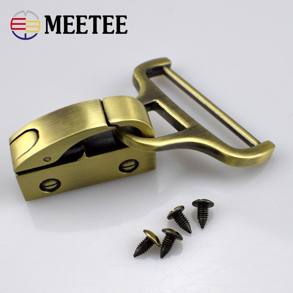 Pistola de venta directa Silenciadores Accesorios de equipaje Colgante Abrazadera lateral con tornillo Diy Fácil de instalar Metal Hebilla Hardware F2-14