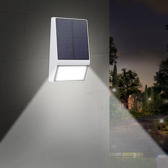 Eclairage Exterieur Mur Lampe IP65 Étanche Jardin Lampes Solaires ...