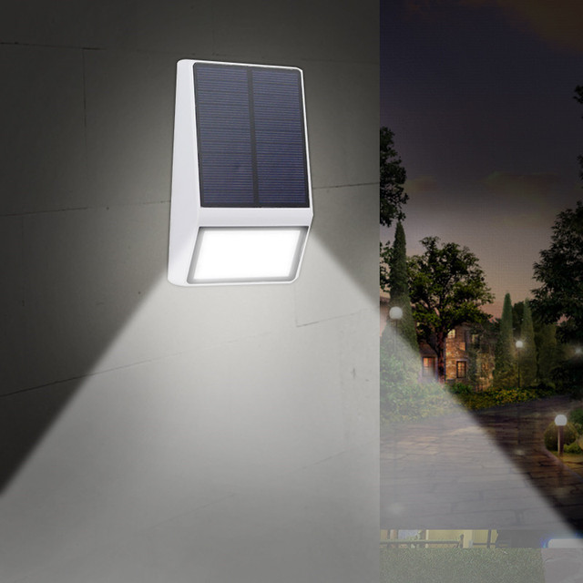 Eclairage Exterieur Lique Ip65 Etanche Jardin Lampes Solaires Pour Décoration De 3 Mode Escalier Lampe