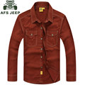 ROUPAS 2015 Primavera Outono Moda de Algodão dos homens Camisas de Vestido Camisa Hombre Plus Size Blusa Vestido Roupas Masculinas Casuais M ~ 5XL