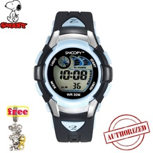 SNOOPY Luxury Brand kids Sports Watches Digital LED Military Watch boy girl Fashion Casual Electronics Wristwatches Relojes 806