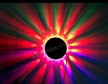 48 x Led Stage Lamp light Colorful Sunflower UFO Revolving light KTV Sound Control Music Control Stage light