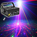 RGRB Laser Projector Stage Lighting Effect Blue LED 5 Lens 80 Patterns DJ Disco Bar Show Home Party Professional Xmas Light