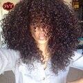 Grade 8A Malaysian Curly Virgin Hair 4 Bundles Malaysian Curly Hair SVT Company 100g Curly Weave Human Hair Extension Bundles