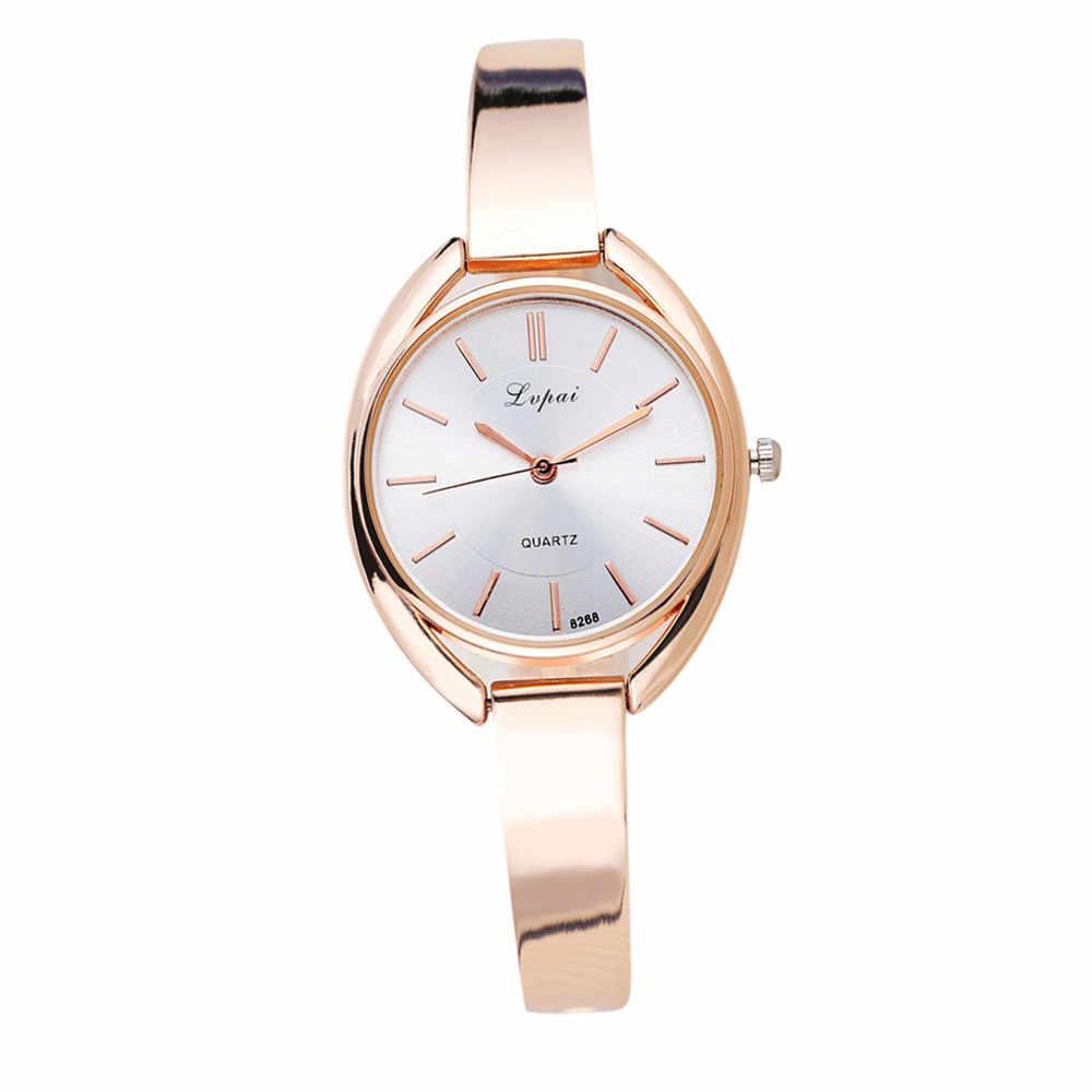 3c3bf4648bed LVPAI часы Для женщин кварцевые наручные часы женская одежда подарок часы  Повседневное кварцевые часы Waches Для