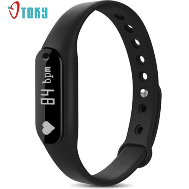Excellent Quality Smart Wristband C6 Heart Rate Monitor Bracelet Bluetooth Passometer Fitness Tracker For Android For iOS