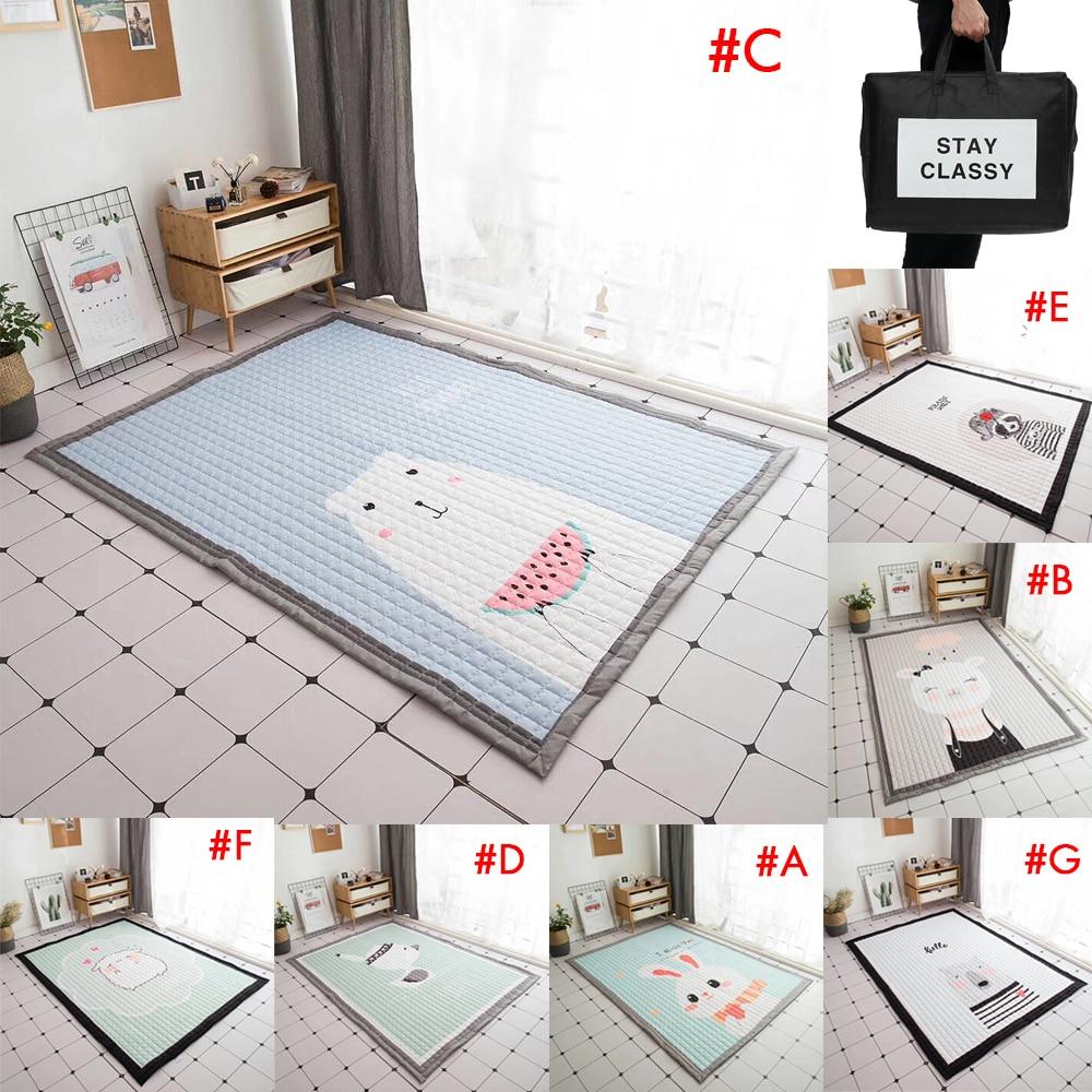 140X195 cm bébé tapis de jeu enfants tapis universel lavable tapis pour salon anti-dérapant chambre tapis de jeu - 2